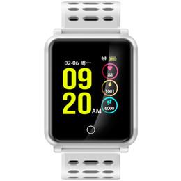 Buyviko N88 Reloj Inteligente Monitor de Presión Arterial de Ritmo Cardíaco Impermeable Deporte Pulsera Banda Pista Reloj Despertador PK fitbit Al Por Mayor desde fabricantes