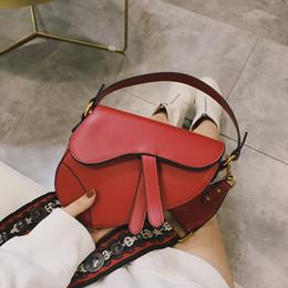 luxus-designer-totes Rabatt Frauen-Sattel-Beutel-Marken-Entwerfer kleine rote Umhängetaschen Luxus-Handtaschen-Frauen-Schulter-Stadtstreicherin-Print-Geldbeutel und Handtaschen beiläufige Einkaufstasche