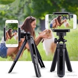 Suporte da câmera dobrável on-line-Mini retrátil selfie e tripé dobrável titular câmera do telefone de mesa conveniente telemóvel universal ficar vivo stand portátil