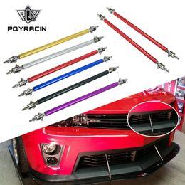 honda passen motoren Rabatt PQY - Universal Einstellbare 20 CM Frontstoßstange Lip Splitter Stangenstrebe Spurstange Unterstützung PQY-QT59