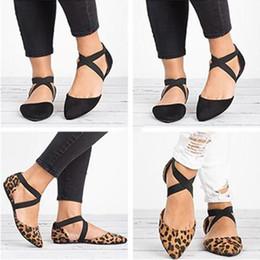 Sandalias de mujer Sandalias Flock Mujer Zapatos de verano ocasionales Mujer alpargatas planas más el tamaño 35-43 Zapatos de playa Estampado de leopardo desde fabricantes