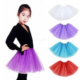 trajes de bolha Desconto Crianças Traje de Dança vestido de Baile TuTu Festa de Natal Vestidos de Disfarce Mulheres Menina Tutu Ballet Dancewea Saias Bolha Pettiskirt LJJA2283