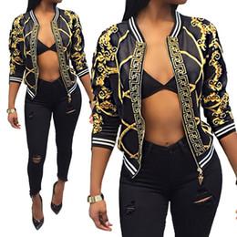 imagens naturais do peito Desconto Designer Jacket Brasão Mulheres Veste Femme Jaqueta manga comprida Chaqueta Mujer Zipper Jacket mais o tamanho S a 2XL