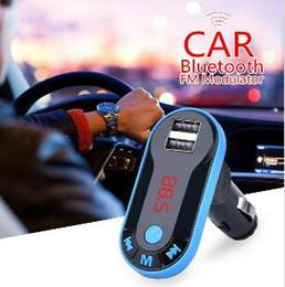 música bluetooth grátis Desconto 2019 carro Bluetooth FM Modulator mp3 player de música mãos-livres chamando dual cartão USB