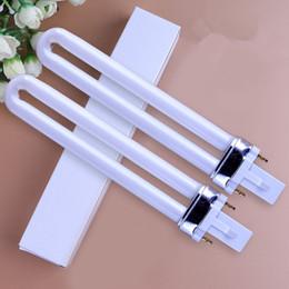2019 arti elettroniche Nail Dryer UV Lampada 9W Bulb Hot New Professional Tubi di ricambio elettronici Nails Art Polish Manicure F2642 arti elettroniche economici