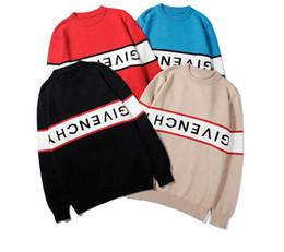 poncho de malha marrom Desconto 2018 outono nova alta qualidade bordados F carta em torno do pescoço camisola pullover feminino camisola de manga longa blusas