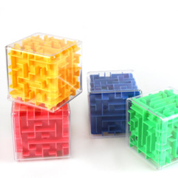 3D Küp Bulmaca Labirent Oyuncak El Oyunu Durumda Kutusu Eğlenceli Beyin Oyunu Meydan Fidget Oyuncaklar Denge Eğitici Oyuncaklar Çocuklar için cheap balancing game nereden dengeleme oyunu tedarikçiler