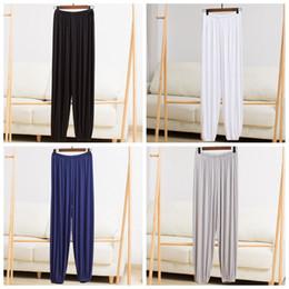 8 Tai Chi Pantolon erkek Yoga Pantolon Gonggong Orta Yaşlı ve Yaşlı Yaşlı Modal Fener Wushu Gonggong Özel Fiyat nereden