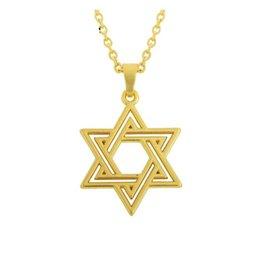 DN022 New Fasjion Design Hohlstern Golden / Silber Gliederkette Anhänger Halskette Amulett Talisman Schmuck für Männer und Frauen von Fabrikanten