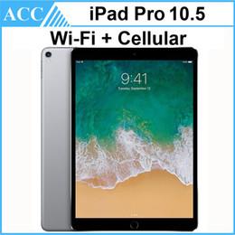 2019 ipad tablet 16gb Überholter ursprünglicher Apple iPad Pro 10.5 Zoll WIFI + zellulärer Chipsatz 4GB RAM 64GB 256GB 512GB ROM Tablette PC DHL 1pcs IOS-A10X