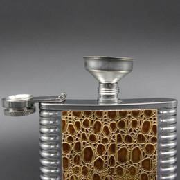 shaker de coquetel grátis Desconto 1 PC Funil De Aço Inoxidável para Hip Flask Transferência de Boca Larga Lata Canning Hopper Filtro Funil Acessórios de Cozinha