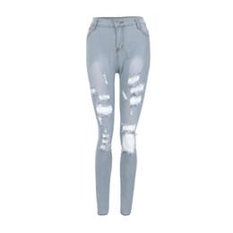 2020 jeans di lycra per le donne mamma dei jeans della donna di arrivo estate casuale di vendita calda delle donne denim pantaloncini a vita alta foderati di pelliccia piedino-aperture lungo sexy Jeans 215 sconti jeans di lycra per le donne