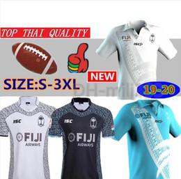 2019 olimpíadas camisetas 2019 2020 Nova fiji longe de casa Camisola de Rugby Sevens Camisa Olímpica tailândia qualidade 18 19 20 fiji Nacional 7's Rugby Jersey S-3XL olimpíadas camisetas barato