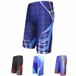 Купальный костюм онлайн-Hot Sale Swimming Trunks Men's Long Racing Swimming Swim Trunks Sport Shorts Classic Men Swimwear Beach Wear Briefs