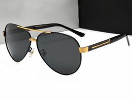 a512ec6807 Gafas de sol nuevas de alta calidad que conducen rana polarizada espejo  masculino gafas de sol de montura grande gafas de sol de marea masculina  750 con ...