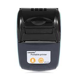 weißer telefonkasten billig Rabatt GOOJPRT PT 210 58MM Bluetooth-Thermodrucker Tragbare Drahtlose Empfangsmaschine für Windows Android iOS Mini-Bluetooth-Drucker 3