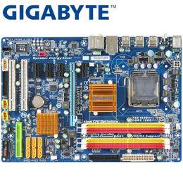 Canada GIGABYTE GA-EP43-S3L Carte mère de bureau P43 Socket LGA 775 pour Core 2 Pentium D DDR2 16G ATX Original utilisé Mainboard EP43-S3L supplier 775 atx motherboard Offre