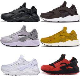 Zapatillas personalizadas online-Nike air huarache 1 2018 Hot Huarache Running Shoes Huaraches Rainbow Ultra Breathe Shoes MenWomen diseñador personalizado Huraches Multicolor Sneakers Air Size 36-45