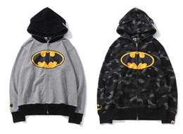 PkorliAAPE Hoodie White Luxury SSbrand Yuan Rentou DC Universe Batman Joint Suéter Hoodie Sudadera Pullover de alta calidad desde fabricantes