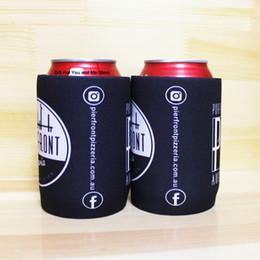 soporte del refrigerador rechoncho Rebajas 400 unids Sublimación Impresión Logo Portátil Stubby Holder Neopreno Titular de la Bebida Regalo Promocional Puede Enfriador de la Boda Paquetes de Hielo