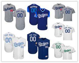 2019-2020 Männer Frauen Dodgers Majestic Startseite kühlen niedrigen Benutzerdefinierte Los Angeles Kinder Jersey von Fabrikanten