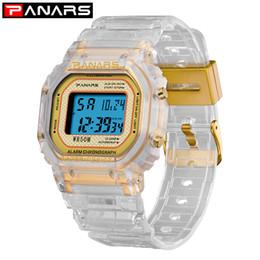 2019 tendência de relógio de pulso PANARS 2019 Tendência Relógio Do Esporte Luminoso Multi-função dos homens Relógio de Pulso À Prova D 'Água de Fitness Digital Alarm Timer Clock 8131 tendência de relógio de pulso barato