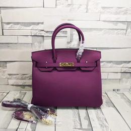 6ac01ccdcefd 2019 hot classic platinum bag 30cm brand designer handbag leather handbag  shoulder bag with shoulder strap with box