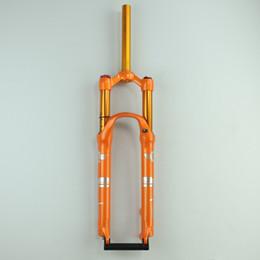 Bicicleta da montanha frente suspensão a ar garfo 32MM 120MM viagem 9x100mm suspensão de desempenho QR Fork de