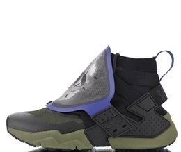 2019 New Huarache Gripp QS Olive Army Green Black Purple Jogging Running  shoes Mens trainers Sports Sneakers Size 38.5-45 Free shipping 4a5d58db5