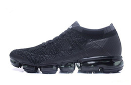 Buenas zapatillas para correr online-2019 Buena calidad Zapatos para correr Hombres Mujeres vmth Zapatos para correr al aire libre Negro Blanco Deporte Shock Jogging Caminar Senderismo Zapatillas deportivas