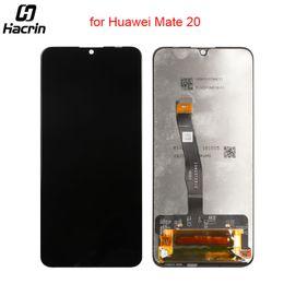 2019 pase de herramienta Para Huawei Mate 20 Pantalla LCD Pantalla táctil Reemplazo del digitalizador Asamblea para Huawei Mate 20 Mate20 Pantalla LCD 6.53 pulgadas + cinta