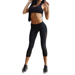 Newest Womens Sports Suits Yoga Set Sports Wear Activewear For Women Sexy Sport Suit Fitness Clothing Sets Womens Gym Clothes Vivid And Great In Style Fitness & Body Building