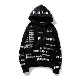2019 hoodie do estilo do assassino dos homens Plam Anjos Mens Designer Hoodie Hip Hop Mens alta Letter qualidade de impressão camisola do Hoodie das mulheres dos homens outono Hoodies preto M-XXL