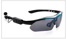 2018 Оптовая Продажа Фабрики 4.1 Стерео Bluetooth Смарт Очки Спортивные Наушники Очки OEM / Пять Объективов Набор Bluetooth очки от