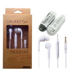 écouteurs samsung galaxy s6 Promotion 3.5mm In-Ear Filaire Écouteurs Stéréo Écouteurs Casque Super Bass Sport Casque avec Micro pour Samsung Galaxy S6 S5 S4 Note 4 3