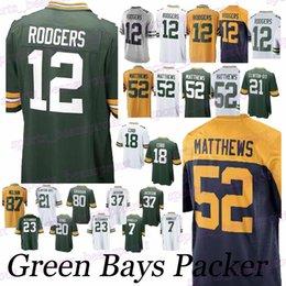 Packer jerseys 12 Aaron Rodgers 52 Clay Matthews 18 Randall Cobb 23 Jaire  Alexander 80 Jimmy Graham jersey b8aafe6f5