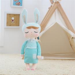 2019 metoo tier plüschtier 34cm Neueste PlushStuffed Süße Kaninchen nette Tiere für Kinder Spielzeug Angela Metoo-Puppe für Mädchen-Geburtstags-Weihnachtsgeschenk günstig metoo tier plüschtier