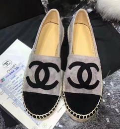 Canada Bas-dessus Pêcheur Chaussures 2019 Espadrilles Perle Sneakers Casual Toile de peau de peau de mouton cheap sheep skin shoes Offre