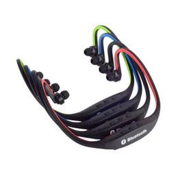 Bluetooth del lettore senza fili della cuffia avricolare online-2019 Nuovo S9 Sport Wireless 4.0 Auricolare Bluetooth Cuffia portatile Neckband Auricolare HIFI Lettore musicale per S8 S9