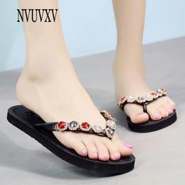 b3be24fa3 Summer fashion women s shoes cute sweet slippers color diamond flip flops  Korean version of beach sandals flat women shoes sh547