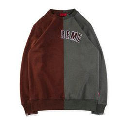 197f084166ad Discount box logo hoodie - Brand Designer Patchwork Hoodie Box Logo  Crewneck Hoodie Winter Fashion Sweatshirt