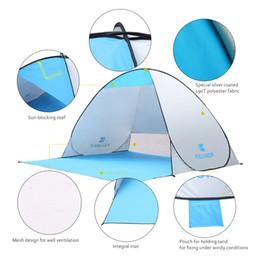 En plein air Tentes De Plage Abris Ombre Protection UV Ultralight Tente pour La Pêche De La Randonnée Pique-Nique Parc Plage Jouant Des Enfants cadeaux B11 ? partir de fabricateur