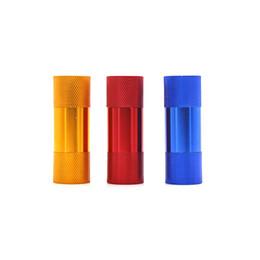 Colorido Crema Whipper Prensa de polen Aleación de aluminio Accesorios para dispositivos de presión Diseño innovador Usos múltiples Tubo para fumar Molinillo de hierbas desde fabricantes