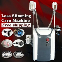 cryo laser Promo Codes - Newest Zeltiq Cryolipolysis Cavitation+RF+Facial RF+40K+Lipo Laser Machine Fat Freezing Machine Cryo therapy Weight Loss Machine For Sale