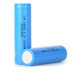 li 3.7v tablet Скидка Высокое качество литий-ионная 18650 литиевая батарея 3.7 в 2200 мАч солнечный уличный свет батарея электрический автомобиль аккумулятор