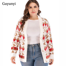 0d900c7f3d trend sweaters hot 2018 women sweater cardigan womens winter clothes hot  2018 Geometric Sweater Cardigan Warm