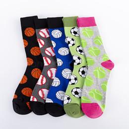 Calcetines largos lisos online-Los calcetines de algodón 5styles fútbol baloncesto béisbol casual calcetines de deporte al aire libre de ocio de invierno llano calcetines largos 2pcs / lot FFA2941