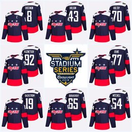 2018 Stadium Series Washington Capitals Tom Wilson Alex Ovechkin T.J. Oshie  Nicklas Backstrom Evgeny Kuznetsov Braden Holtby Hockey Jersey 204b83afa