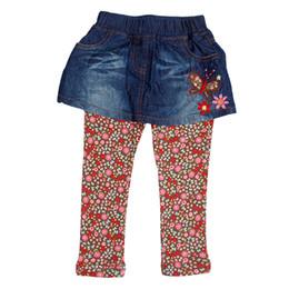 Enfants portant des jeans en Ligne-novatx G5982 bébé filles vêtements enfants enfants marque jeans pantalons de mode pour bébés filles beaux enfants causal wear