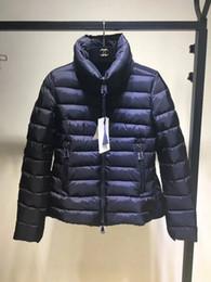 2019 chaquetas muy calientes Chaqueta de invierno para mujer Señoras pato abajo Abrigo cálido Femme Abrigo largo Calidad Muy buena Cintura Ropa delgada rebajas chaquetas muy calientes